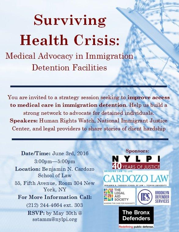 Surviving Health Crisis - Flyer