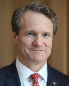 CHARLOTTE OCT 15 Bank Of America Chairman And CEO Brian Moynihan At