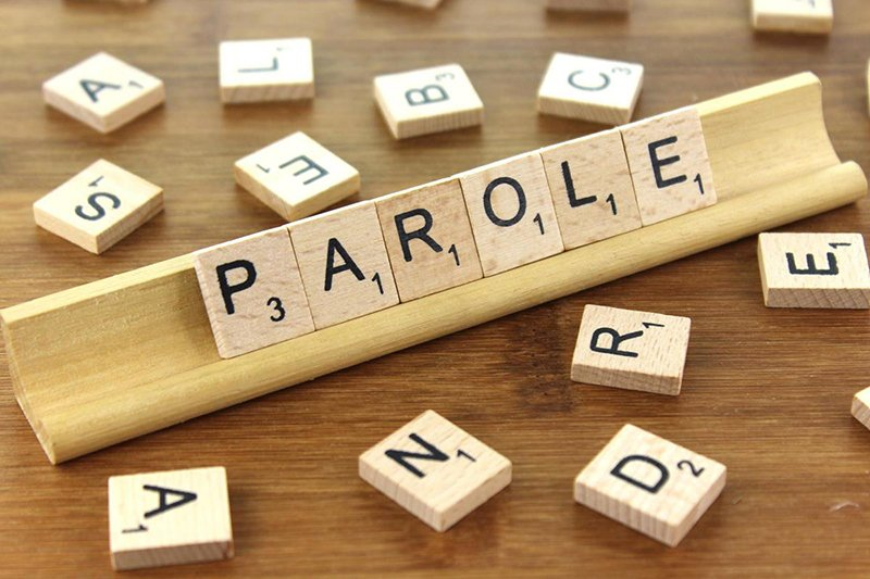 """Tiles spelling the word """"Parole"""""""