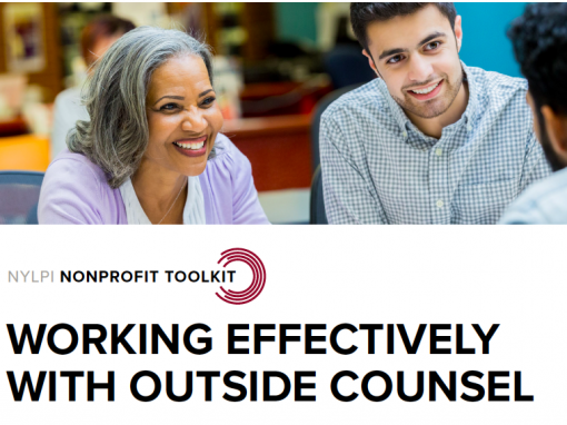 Working Effectively with Outside Counsel