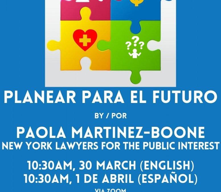 Planear Para el Futuro Para Personas con Discapacidades (en Español)