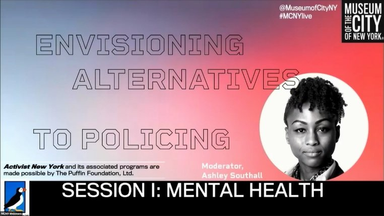 Ruth Lowenkron Presents on Mental Health and Alternatives to Policing