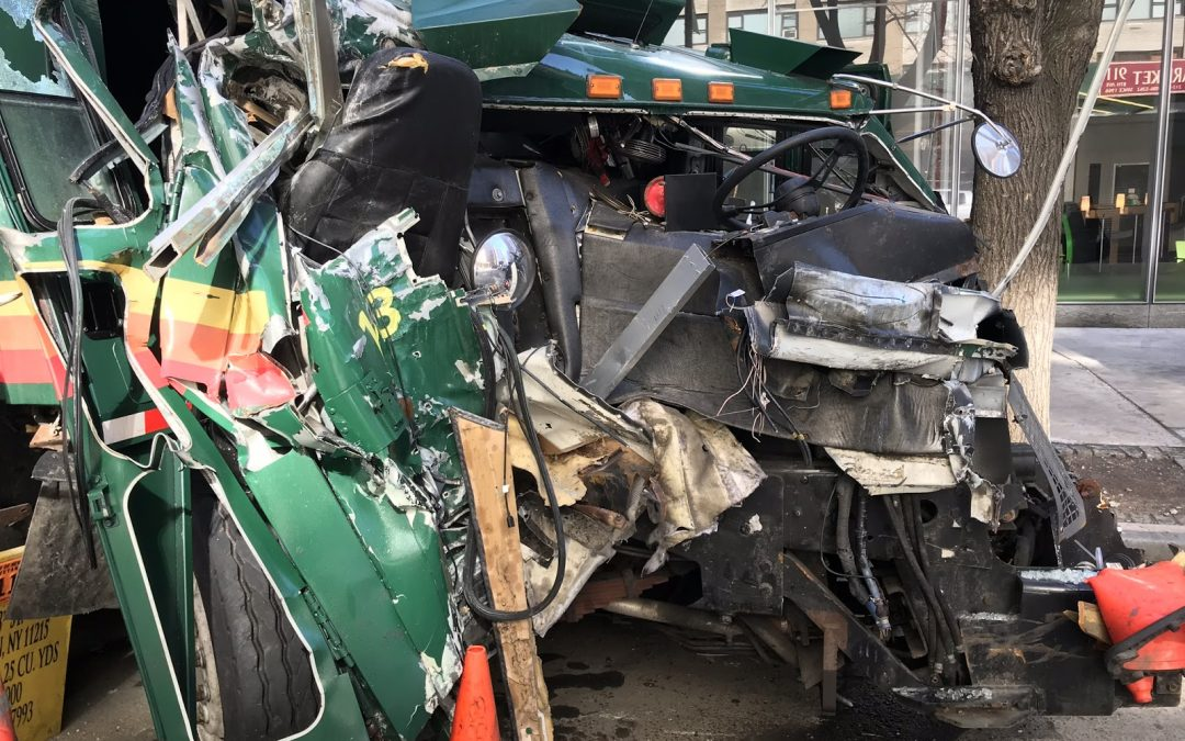 New NYLPI and Transform Don't Trash NYC Report Finds Crashes and Safety Violations Continue in Private Sanitation Industry