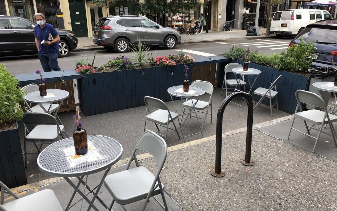 Manhattan Times News: ManyOutdoorDining Spaces Lack Full Accessibility