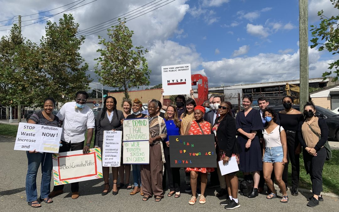 Queens Residents and Environmental Advocates File Federal Lawsuit Against Polluting Waste Transfer Facilities
